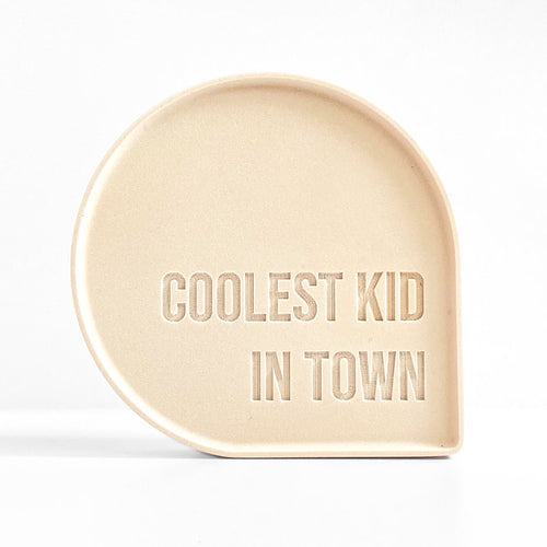 Goegezegd - Bubble Quote - Coolest kid in town