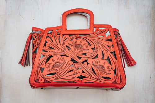 Señorita Tote in Red