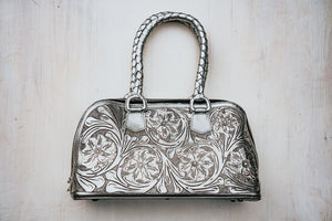 Margarita Mini Tote in Silver