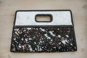 Cabo Clutch Silver Fairy Dust