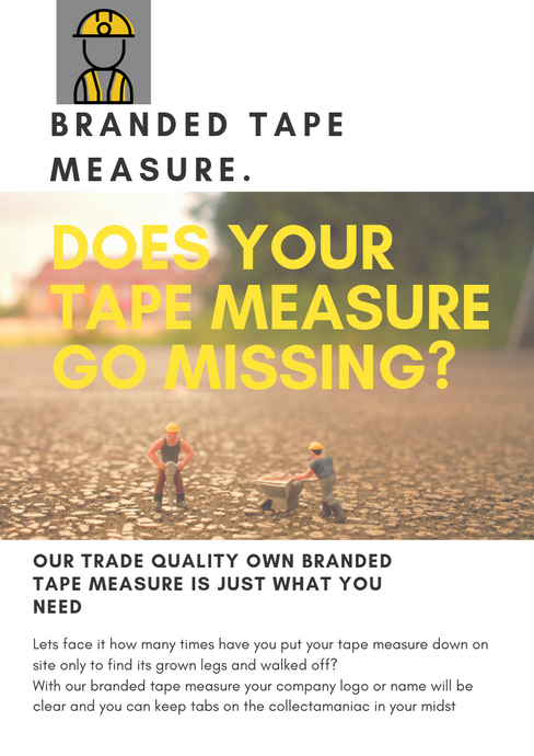 The Branded Tape Measure