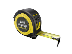 OWN BRANDED TAPE MEASURE EC CLASS II - 8M-26FT - BLACK 25MM