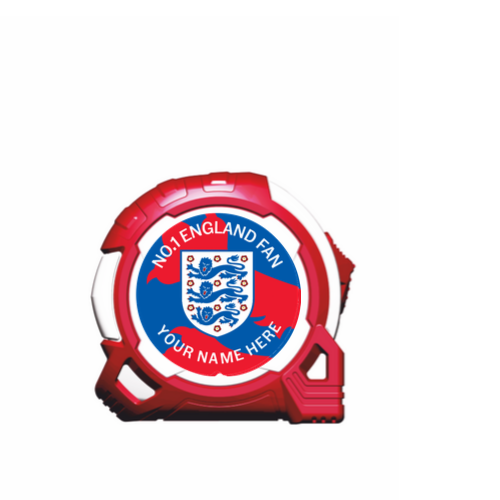 OFFICIAL ENGLAND 2020 5M-16FT BRANDED TAPE MEASURE - LIMITED EDITION BLUE, EURO 2020 ENGLAND, ENGLAND 2020, EURO 2020 QUALIFIER, EURO 2020 GROUP, EURO 2020 FOOTBALL, OFFICIAL EURO 2020 MERCHANDISE, EURO 2020 OFFICIALLY LICENSED MERCHANDISE, PERSONALISED EURO 2020 MERCHANDISE