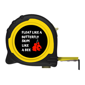 SKIM LIKE A BEE BRANDED TAPE MEASURE - 5M/16FT 8M/26FT