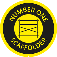 Load image into Gallery viewer, No1 SCAFFOLDER BRANDED TAPE MEASURE LABEL - 5M/16FT 8M/26FT
