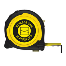 Load image into Gallery viewer, No1 SCAFFOLDER BRANDED TAPE MEASURE - 5M/16FT 8M/26FT
