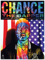 CHANCE THE RAPPER POSTER - DONALD STEPHENS CONVENTION CENTER