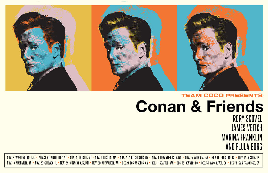 Conan Triplets - Conan and Friends Tour 2018
