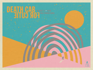DEATH CAB FOR CUTIE LITHOGRAPH