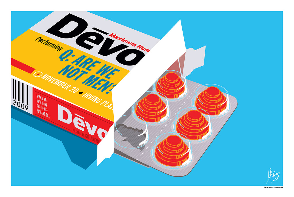 DEVO - NEW YORK CITY, NY 2009