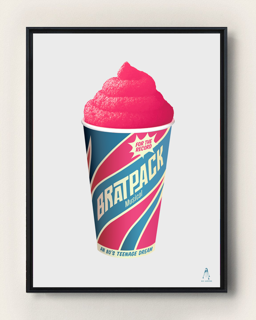 BRATPACK FREEZE ART PRINT