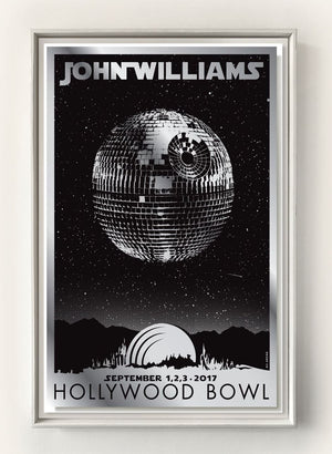 JOHN WILLIAMS - DISCO DEATH STAR - HOLLYWOOD BOWL