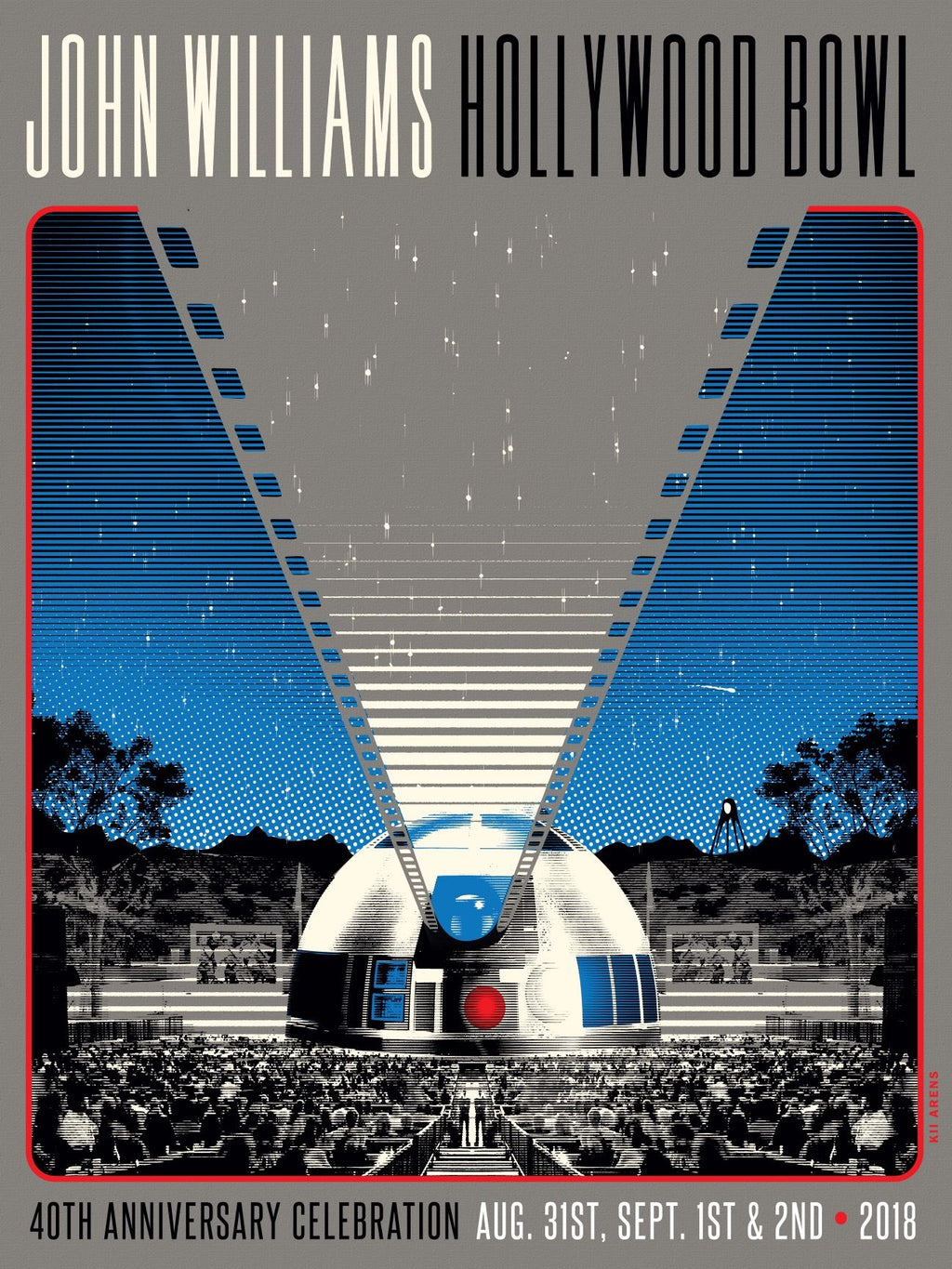 JOHN WILLIAMS - R2D2 - HOLLYWOOD BOWL