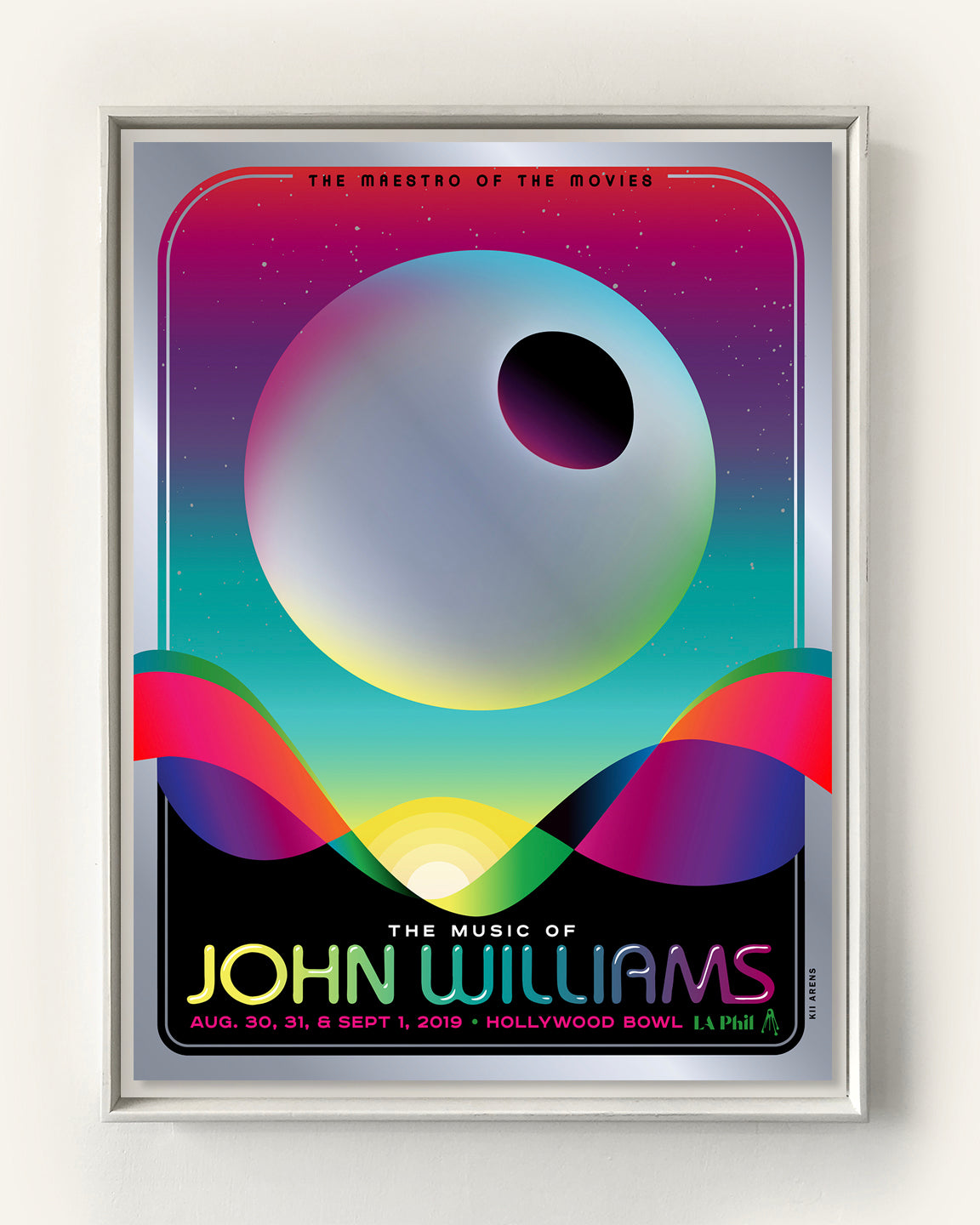 JOHN WILLIAMS - DEATHSTAR - HOLLYWOOD BOWL (METALLIC FOIL)