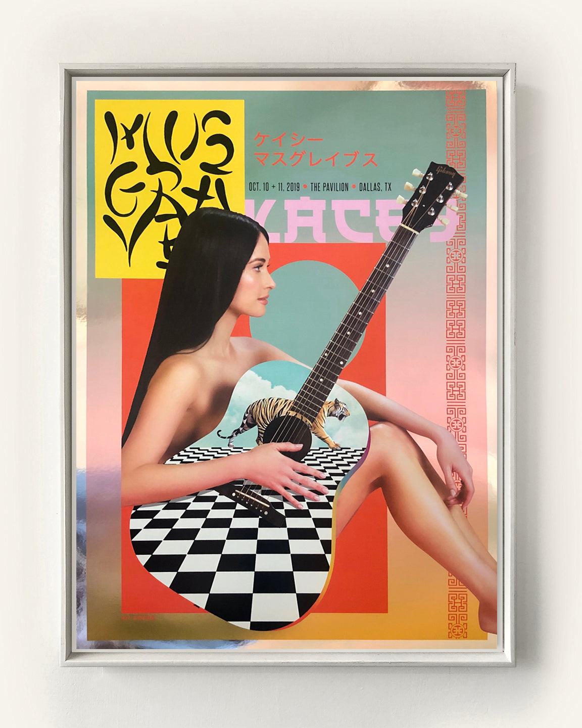 KACEY MUSGRAVES THE PAVILION 2019 (METALLIC FOIL)