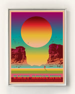 KACEY MUSGRAVES POSTER - RED ROCKS 2019