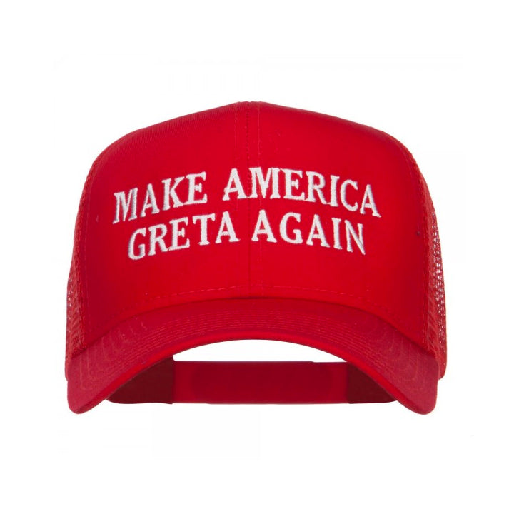 GRETA TRUCKER HAT - RED