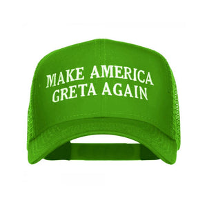 GRETA TRUCKER HAT - GREEN