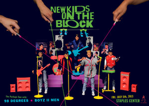 NEW KIDS ON THE BLOCK - LOS ANGELES, CA 2013