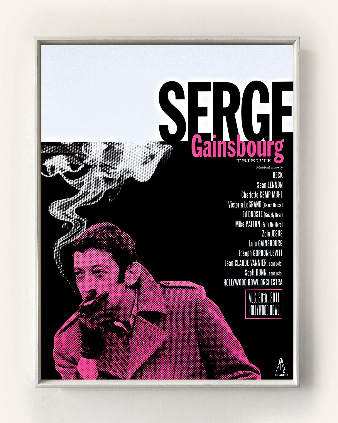 SERGE GAINSBOURG - LOS ANGELES, CA 2011