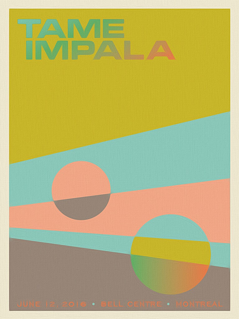 TAME IMPALA POSTER - BELL CENTRE