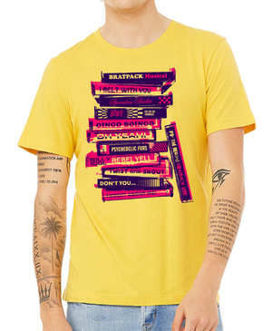 BRATPACK STACK TEE - YELLOW