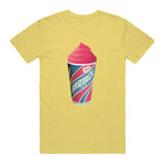 BRATPACK FREEZE TEE - YELLOW
