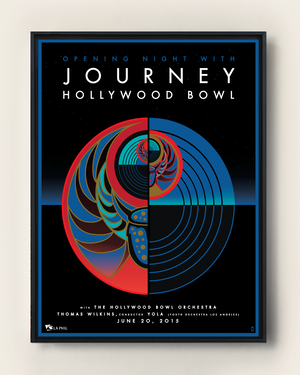 JOURNEY - HOLLYWOOD BOWL, 2015