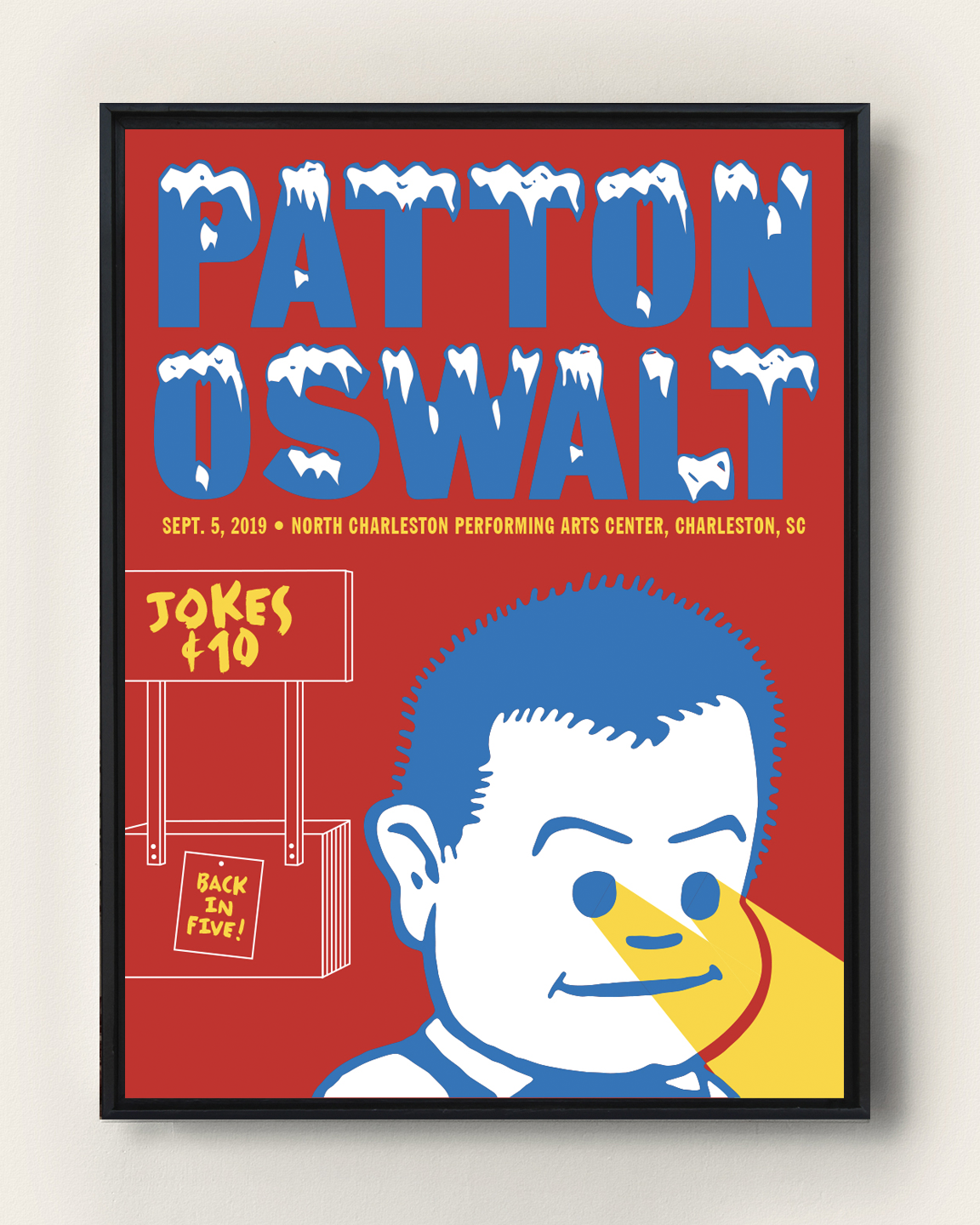 PATTON OSWALT - CHARLESTON, SC