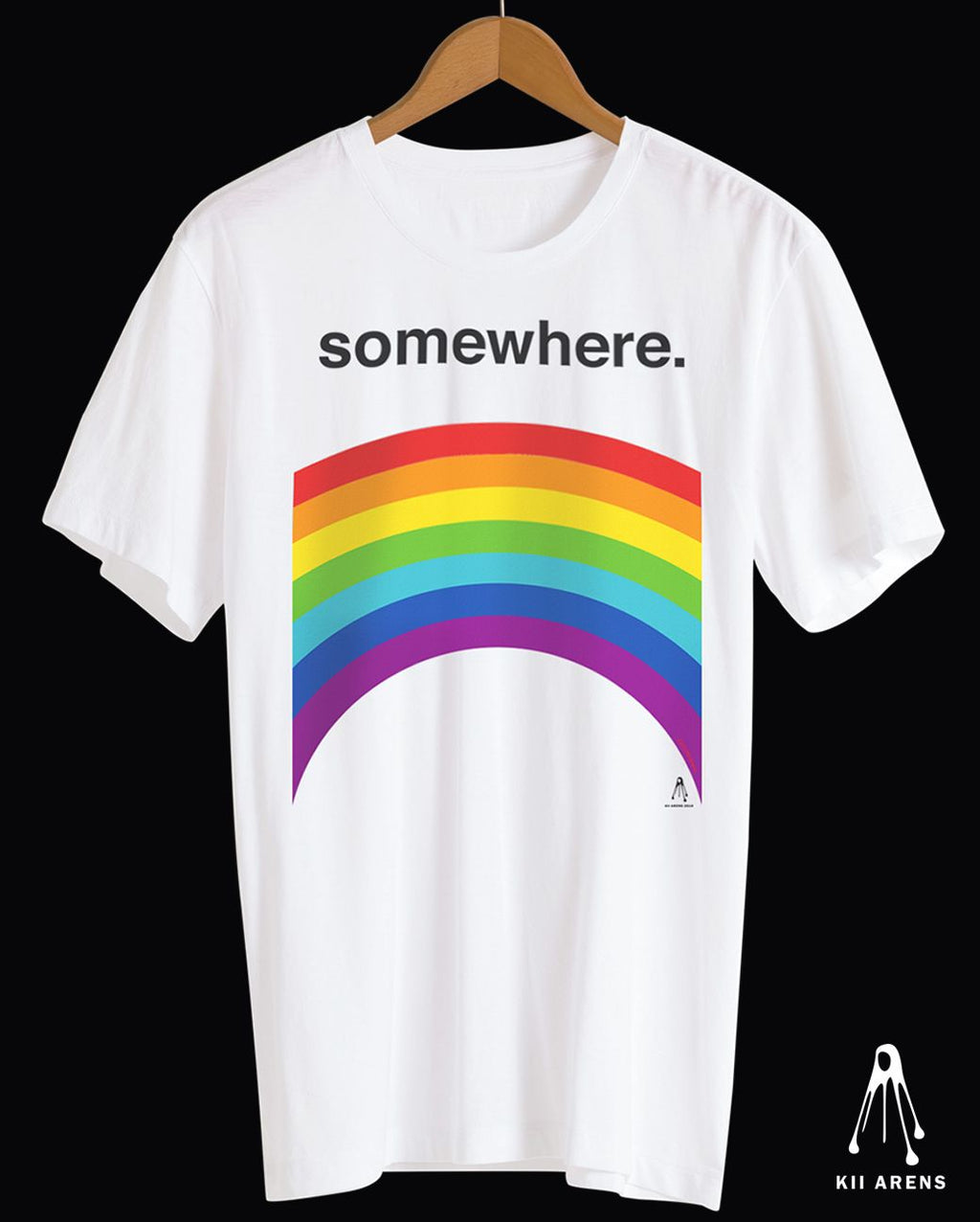 SOMEWHERE OTR 2019 TEE - WHITE