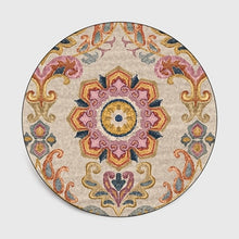 Load image into Gallery viewer, Persian Style Round Carpets For Living Room Bedroom Rugs And Carpets Classic Flower Decor