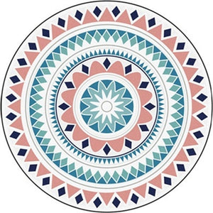 Persian Style Round Carpets For Living Room Bedroom Rugs And Carpets Classic Flower Decor