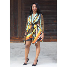 Load image into Gallery viewer, Celeste Wrap Dress