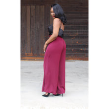 Load image into Gallery viewer, Tracee High-Waist Wide Leg Pants