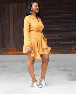 Dana Wrap Dress