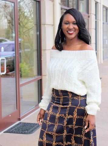 Vivica Off the Shoulder Sweater