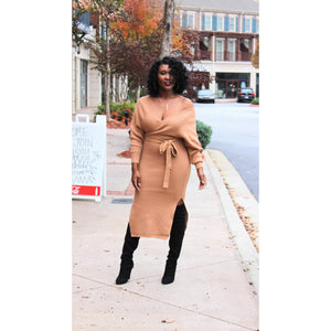 Renee Midi Sweater Dress