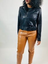 Load image into Gallery viewer, Angelina Faux Leather Moto Jacket