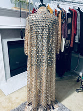 Load image into Gallery viewer, Nova Fringe Sequin Kimono