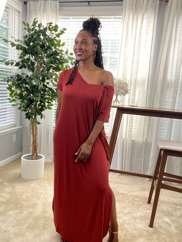 Destiny Maxi Dress - Plus