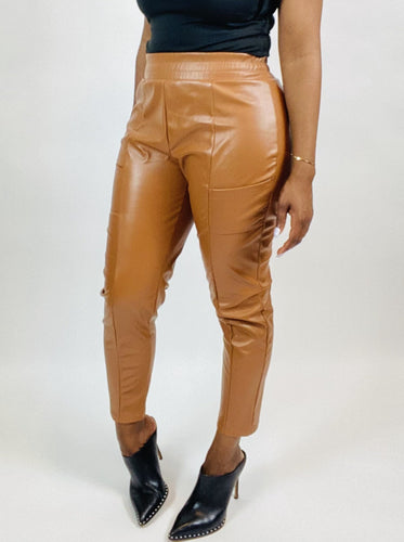 Ronni Faux Leather Pants