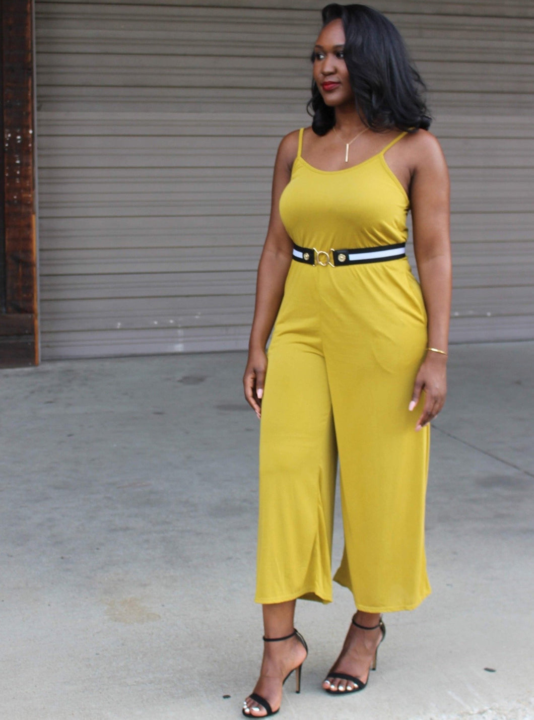 Nickie Jersey Jumpsuit