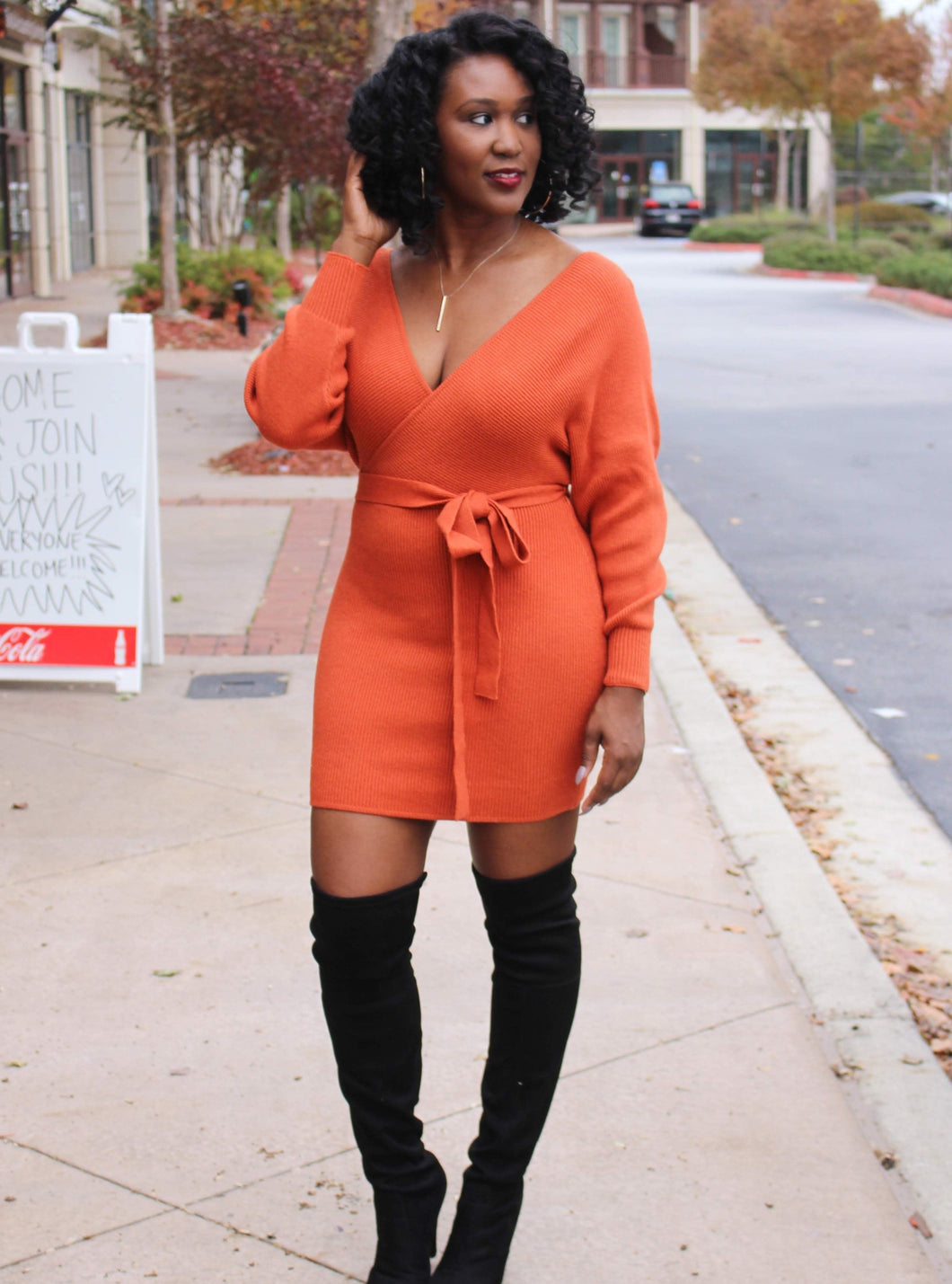 Nia Sweater Dress