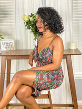 Load image into Gallery viewer, Alicia Floral Mini Dress