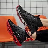 Mr.shoes Men Running Shoes for Men Blade Series Cushioning Sneakers Breathable Sports Shoes Outdoor Athletic Training Walking Sneaker