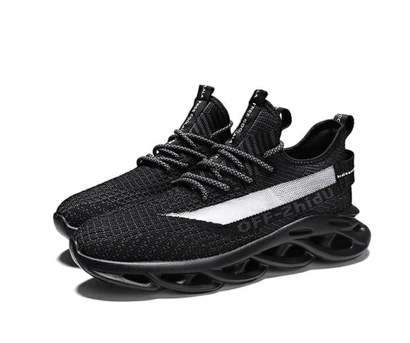 Mr.SHOES Running Shoes Men Large Size Spring Men's Breathable Sneaker Summer Mesh Sport Shoe Off White Male
