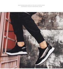Load image into Gallery viewer, Mr.SHOES  2020 design Autumn men's tide shoes flying weaving sneakers Korean version of coconut white shoes breathable casual board shoes spring shoes Running Shoes For Men