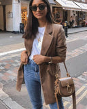 جاكيت قهوائي|Brown jacket
