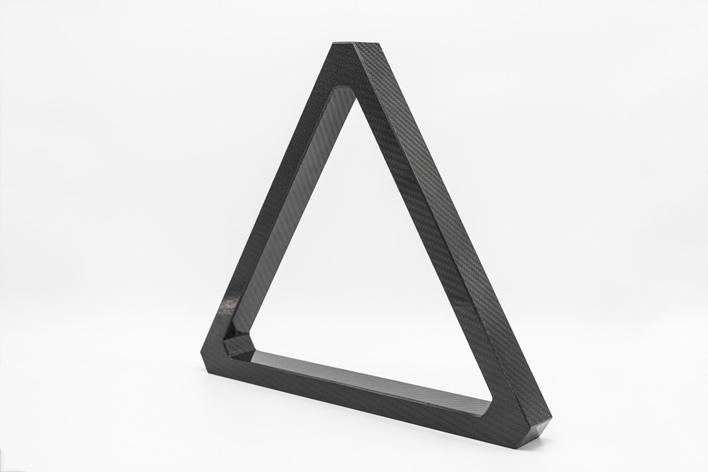 Custom Carbon Fiber Triangle Rack - Blatt Billiards