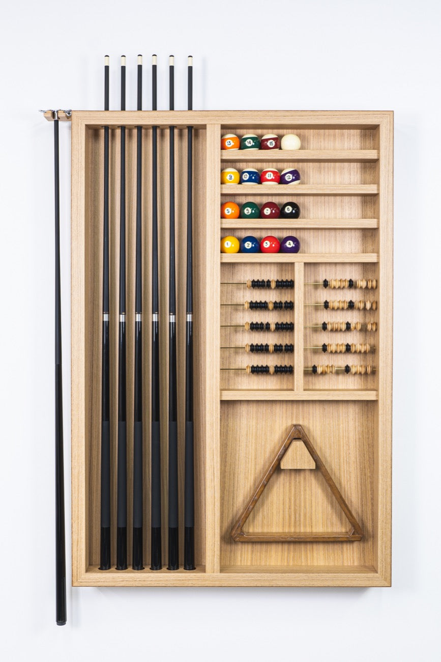 Modern Combination Wall Rack - Blatt Billiards